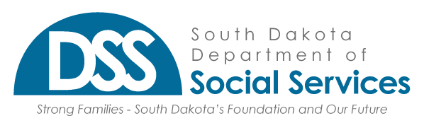 DSS: Strong Families - South Dakota's Foundation and Our Future.